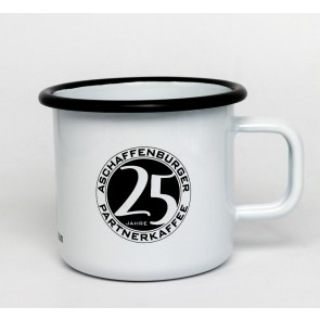 Emaillletasse Partnerkaffee